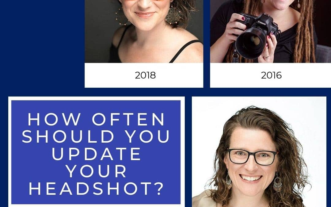 How often should you update your headshot?