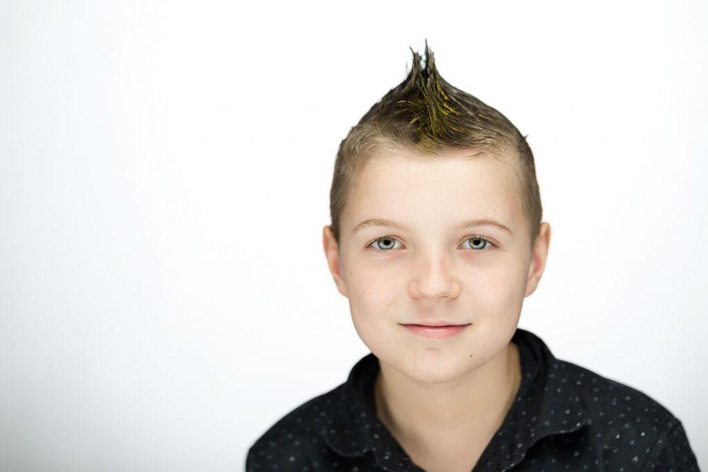 headshot of child taken in berks county studio