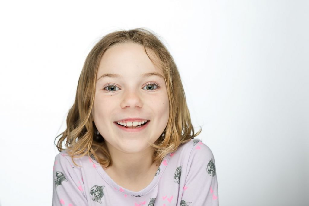 example kids headshot from a pa based photography studio