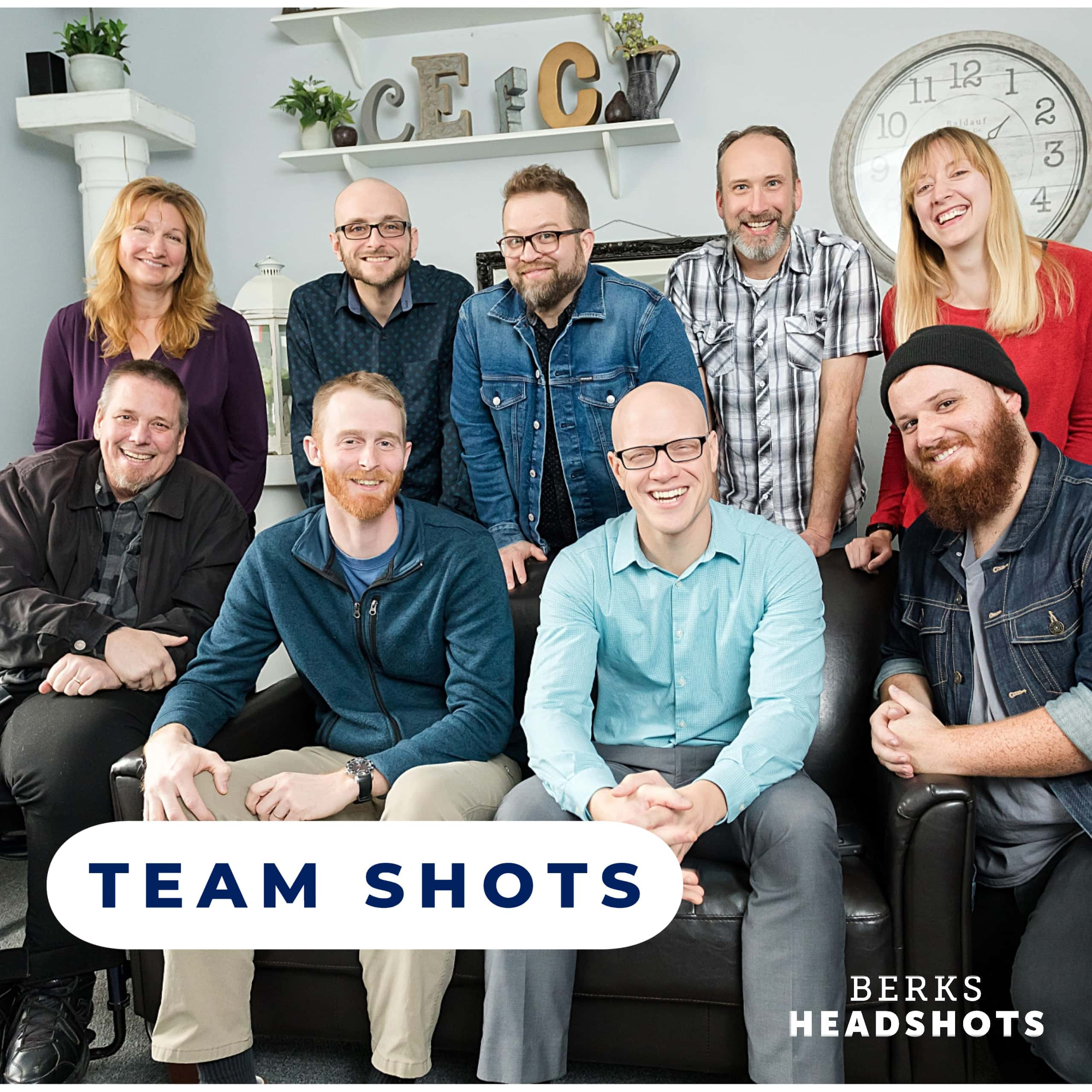 How to Build Brand Confidence With Team Photos