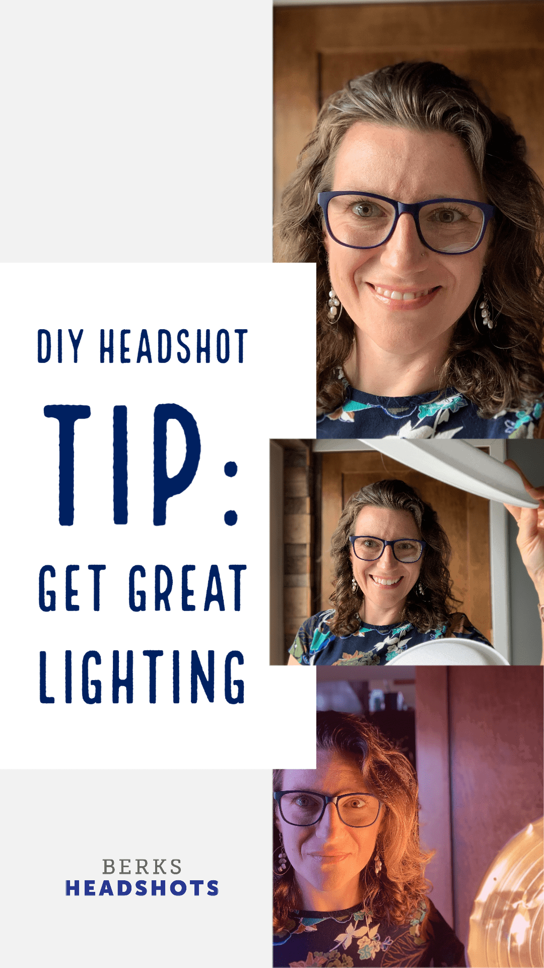 DIY Headshot: How to Find Great Lighting for your Headshot Selfie