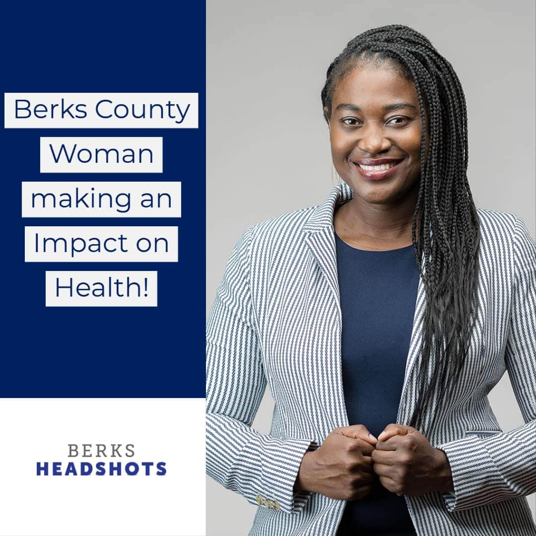 Headshot of professional woman in berks county
