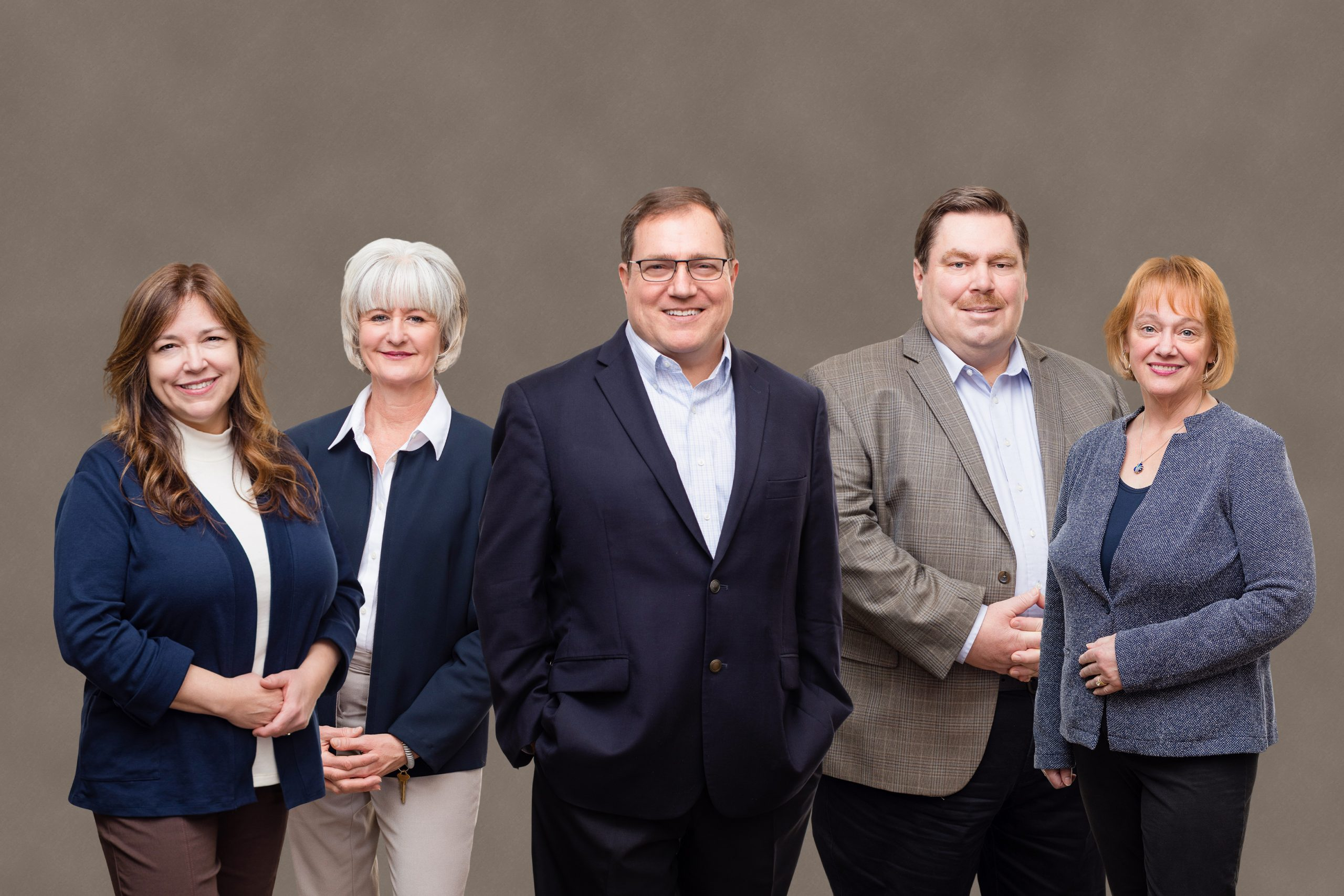 composite group photo for small team